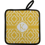 Trellis Pot Holder w/ Initial