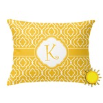 Trellis Outdoor Throw Pillow (Rectangular) (Personalized)