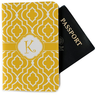 Trellis Passport Holder - Fabric (Personalized)