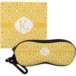 Trellis Eyeglass Case & Cloth (Personalized)