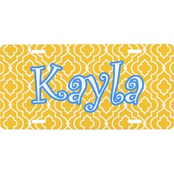 Trellis Front License Plate (Personalized)