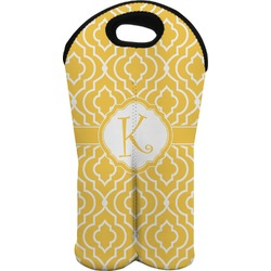 Trellis Wine Tote Bag (2 Bottles) (Personalized)