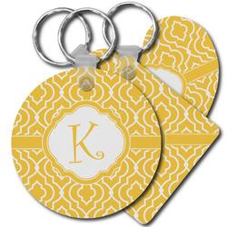 Trellis Plastic Keychains (Personalized)