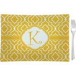 Trellis Rectangular Appetizer / Dessert Plate (Personalized)