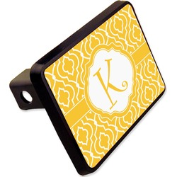 "Trellis Rectangular Trailer Hitch Cover - 2"" (Personalized)"