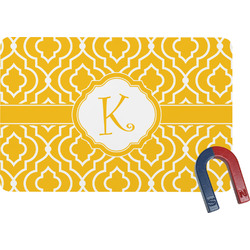 Trellis Rectangular Fridge Magnet (Personalized)