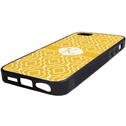 Trellis Rubber iPhone 5/5S Phone Case (Personalized)