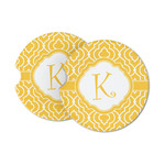 Trellis Sandstone Car Coasters (Personalized)
