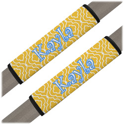 Trellis Seat Belt Covers (Set of 2) (Personalized)