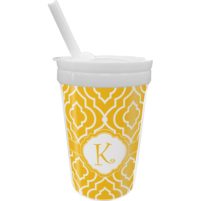 Trellis Sippy Cup with Straw (Personalized)