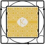 Trellis Square Trivet (Personalized)