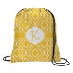 Trellis Drawstring Backpack (Personalized)