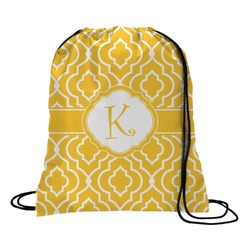 Trellis Drawstring Backpack (Personalized)