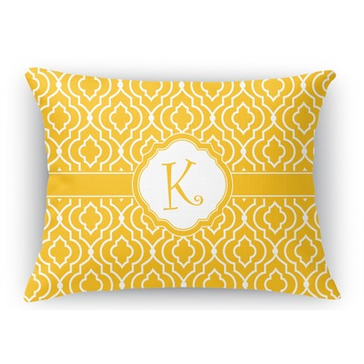Rectangular Throw Pillow Dimensions : Trellis Rectangular Throw Pillow (Personalized) - YouCustomizeIt