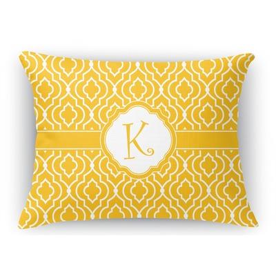 Trellis Rectangular Throw Pillow (Personalized) - YouCustomizeIt