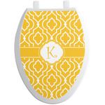 Trellis Toilet Seat Decal - Elongated (Personalized)
