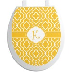 Trellis Toilet Seat Decal (Personalized)