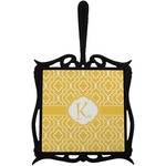 Trellis Trivet with Handle (Personalized)