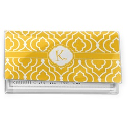 Trellis Vinyl Checkbook Cover (Personalized)