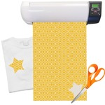 Trellis Heat Transfer Vinyl Sheet (12