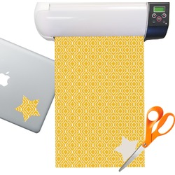 Trellis Sticker Vinyl Sheet (Permanent)