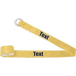 Trellis Yoga Strap (Personalized)