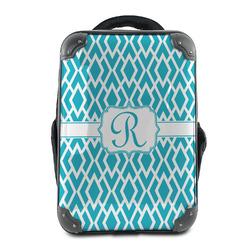 Geometric Diamond Hard Shell Backpack (Personalized)
