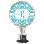 Geometric Diamond Wine Bottle Stopper (Personalized)