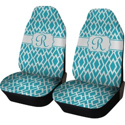 Geometric Diamond Car Seat Covers (Set of Two) (Personalized)
