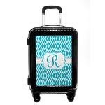 Geometric Diamond Carry On Hard Shell Suitcase (Personalized)