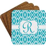Geometric Diamond Coaster Set (Personalized)