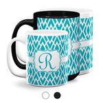 Geometric Diamond Coffee Mugs (Personalized)