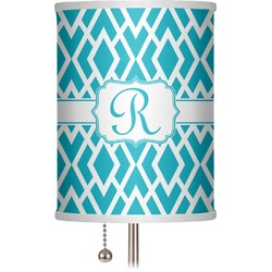 "Geometric Diamond 7"" Drum Lamp Shade (Personalized)"