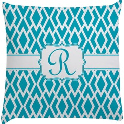 Geometric Diamond Decorative Pillow Case (Personalized)