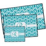 Geometric Diamond Door Mat (Personalized)