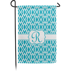 Geometric Diamond Garden Flag - Single or Double Sided (Personalized)