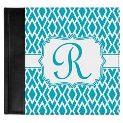 Geometric Diamond Genuine Leather Baby Memory Book (Personalized)