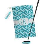 Geometric Diamond Golf Towel Gift Set (Personalized)