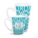 Geometric Diamond Latte Mug (Personalized)