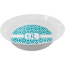 Geometric Diamond Melamine Bowl (Personalized)