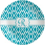 Geometric Diamond Melamine Plate (Personalized)