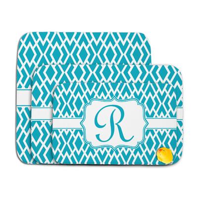 Geometric Diamond Memory Foam Bath Mat (Personalized)