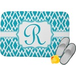 Geometric Diamond Memory Foam Bath Mat (Personalized)