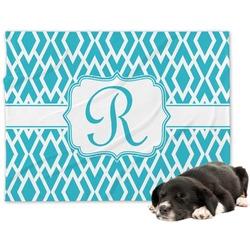 Geometric Diamond Dog Blanket (Personalized)