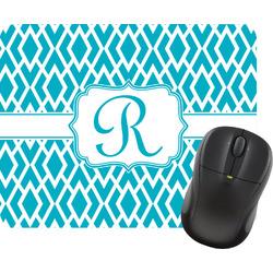 Geometric Diamond Rectangular Mouse Pad (Personalized)