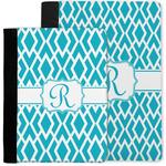 Geometric Diamond Notebook Padfolio w/ Initial