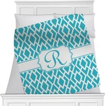 Geometric Diamond Minky Blanket (Personalized)
