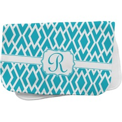 Geometric Diamond Burp Cloth (Personalized)