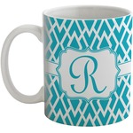 Geometric Diamond Coffee Mug (Personalized)