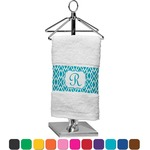 Geometric Diamond Finger Tip Towel (Personalized)